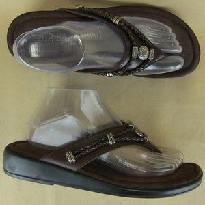 Minnetonka US 9 Women Flip Flops Sandal Jeweled